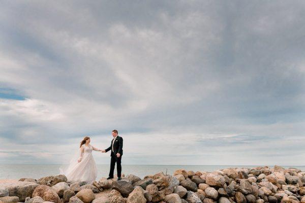 Bride-Groom-at-Northwinds-Beach-Craigleith
